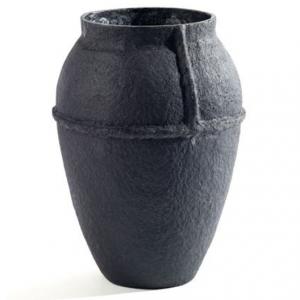 Paperpulp Vase Large Black