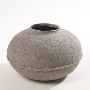 Paperpulp Vase Large Low