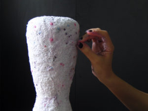 Courses and workshops making paper pulp by Debbie Wijskamp